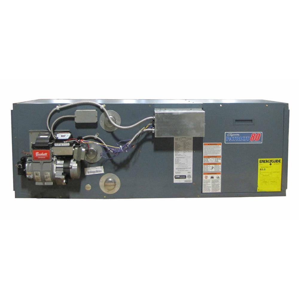 84% AFUE 95,000 BTU Output Downflow/Horizontal Rear Flue Oil Hot Air Furnace