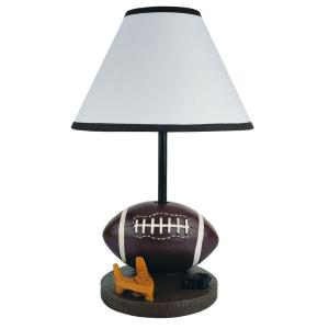 ORE International 15 inch Football Brown Accent Lamp by ORE International