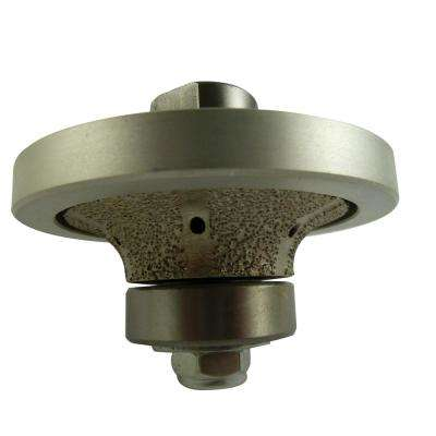 1/2 in. Radius Diamond Hand Profiler/Router Bit with 5/8 in. to 11 in. Thread