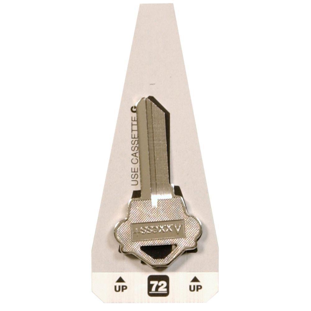 Hillman #72 Blank Westlock Specialty Key