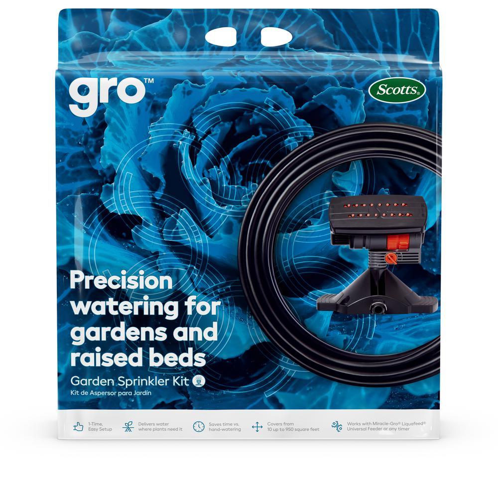 Scotts Gro Garden Sprinkler Kit-72190-1 - The Home Depot