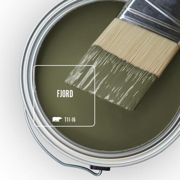 Reviews For Behr Marquee 1 Gal T11 16 Fjord Semi Gloss Enamel Exterior Paint Primer 545301 The Home Depot