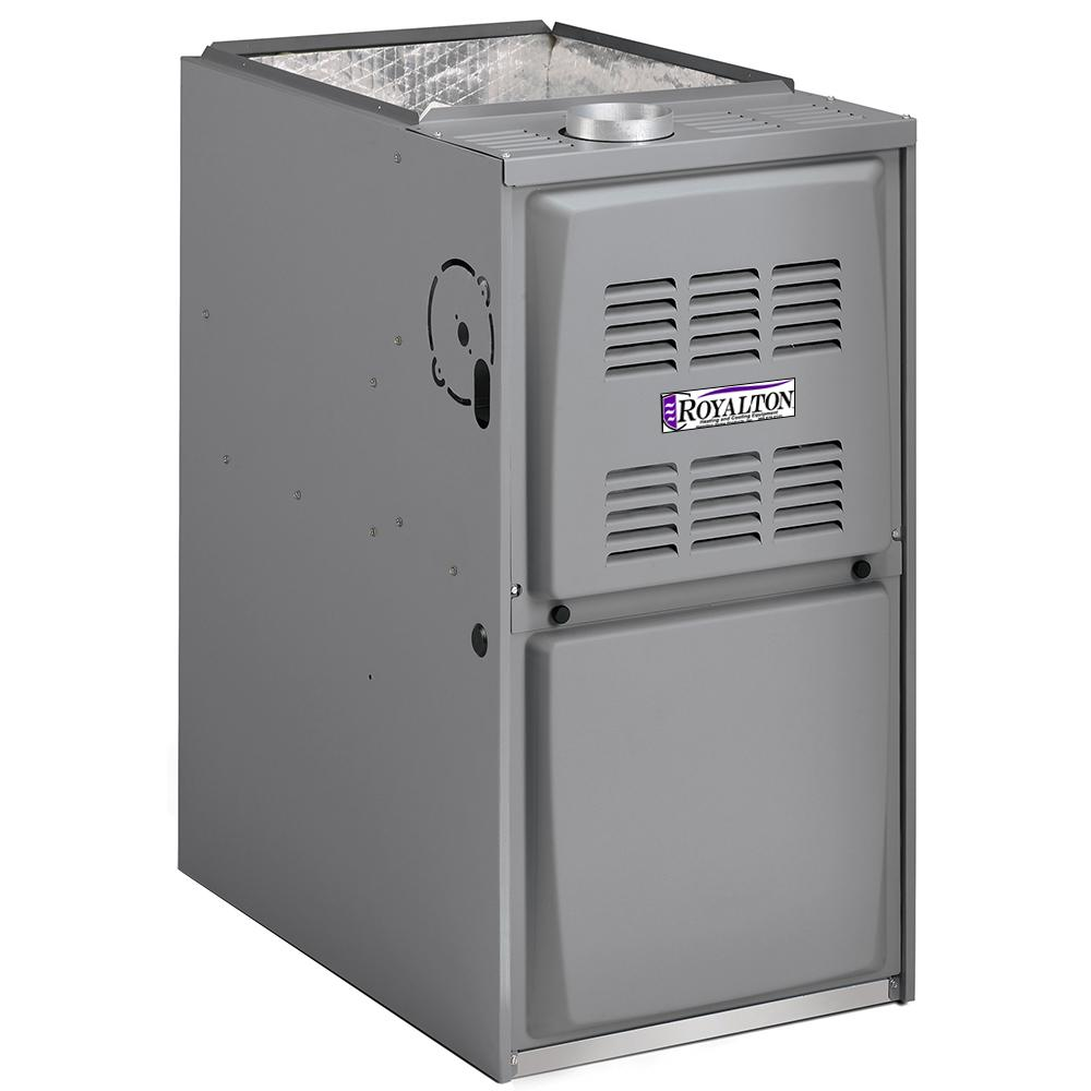 110,000 BTU 95% AFUE 2-Stage Upflow/Horizontal Forced Air Natural Gas Furnace