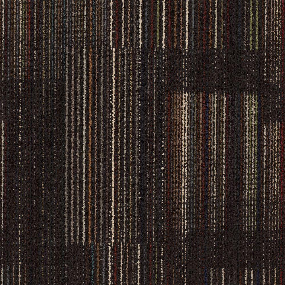 Contractor Black 24 in. x 24 in. Modular Carpet Tile Kit (18 Tiles/Case)