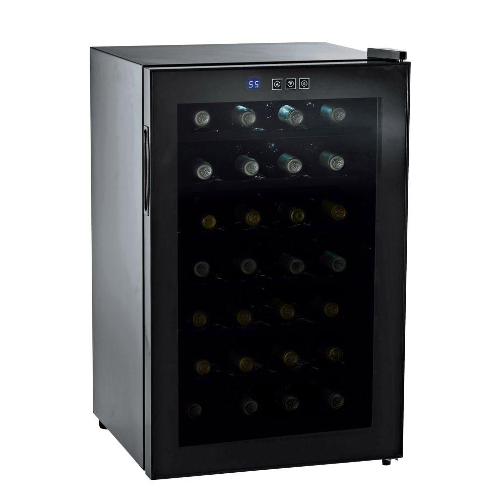 Wine Enthusiast 28-Bottle Silent Touchscreen Wine Cooler-DISCONTINUED