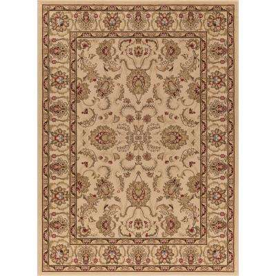 Ankara Oushak Ivory Rectangle Indoor 9 ft. 3 in. x 12 ft. 6 in. Area Rug