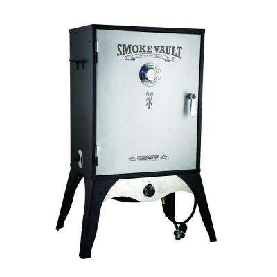 Smoke Vault 24 in. Propane Gas Smoker