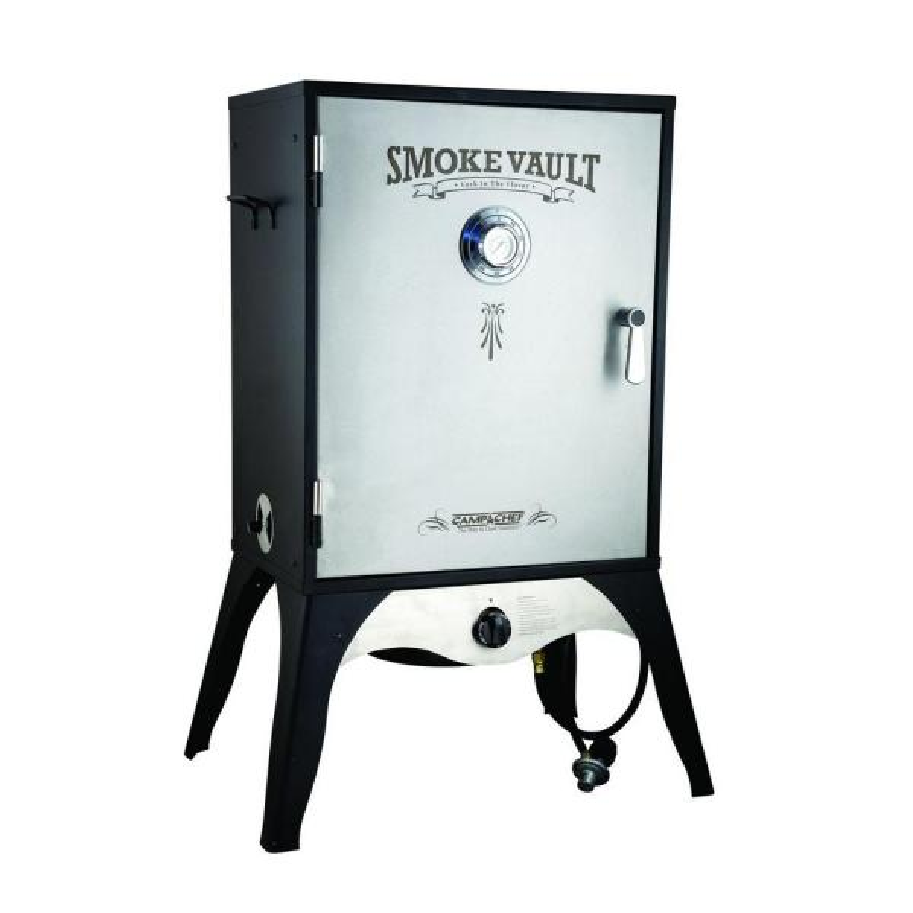 Smoke Vault 24 in. Propane Gas Smoker