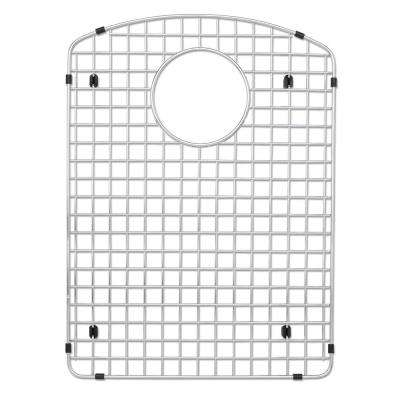 14 in. D x 17 in. W Sink Grid for ATDD3322, AUDD3120 Left-Bowl in Stainless Steel