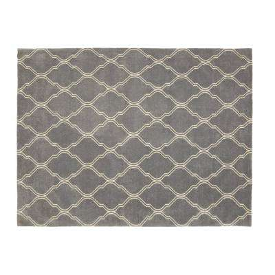 Walton Pewter 8 ft. x 10 ft. Area Rug