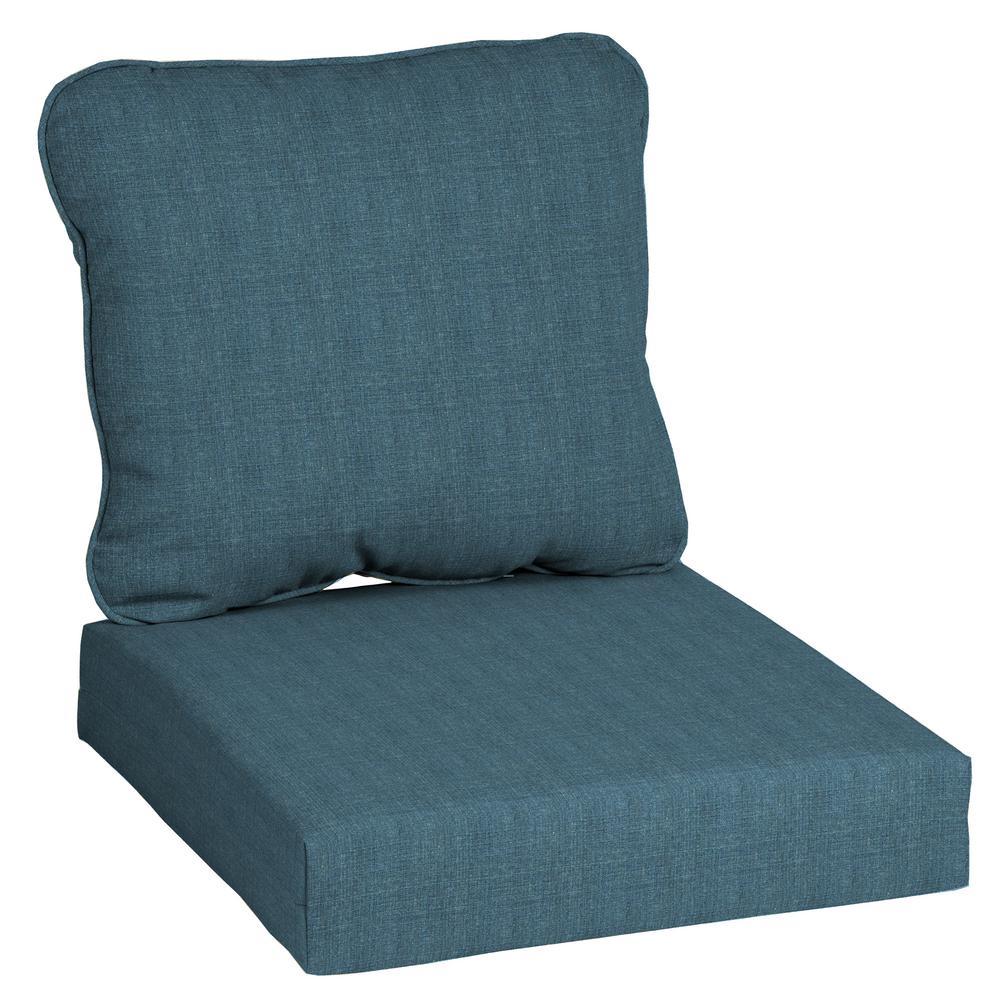 CushionGuard Sky 2-Piece Deep Seating Outdoor Lounge Chair Cushion