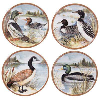 8.5 in. Lake Life Salad/Dessert Plate (Set of 4)