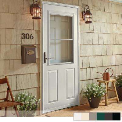 400 Series 1 2 View Self Storing Storm Door