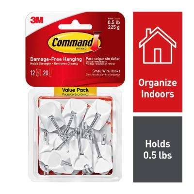 Small Wire Hooks (12-Pack)