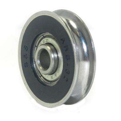 1-1/2 in. Precision Bearing Stainless Steel Wheel (2-Pack)