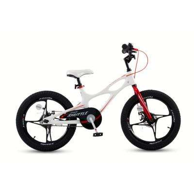 18 in. Magnesium Space Shuttle Kid's Bike in White