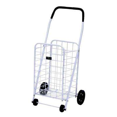 Mini-A Shopping Cart in White