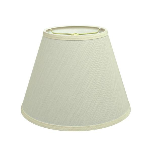 Empire Hardback Lampshade with Washer Fitter in Heather ID 3941812