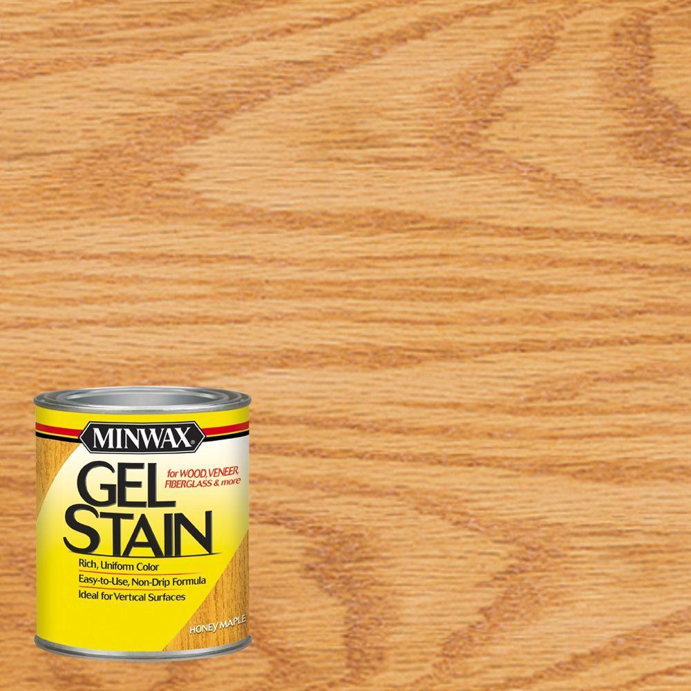 1 qt. Honey Maple Gel Stain (4-Pack)