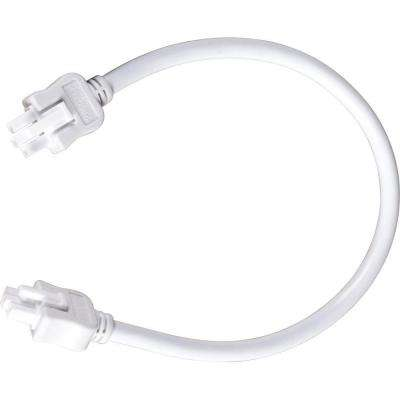Hide-a-Lite III Collection White 12 in. Linking Cable