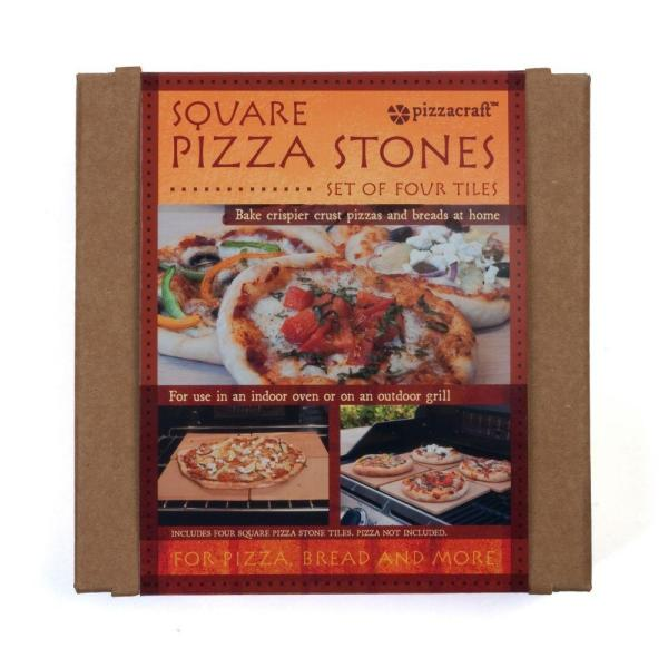 Pizzacraft Pizza Stone 4 Pack Pc0103