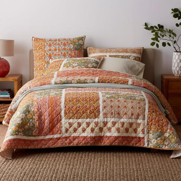 The Company Store Kiri Cotton Twin Quilt 50287Q-T-MULTI