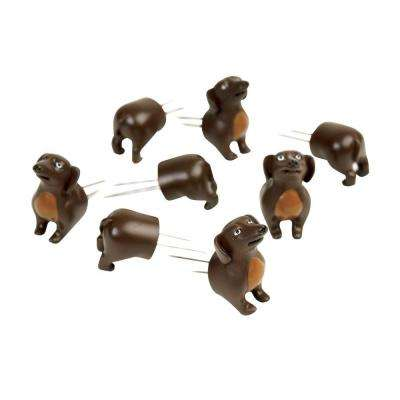 Dog Corn Holders (Set of 4)