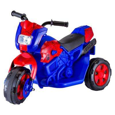Spiderman Motorcycle in Blue