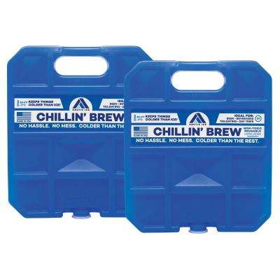Chillin' Brew Series 2.5 lb. Freezer Pack  2-Pack