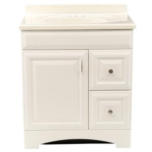 St Paul Providence 30 In Vanity White With 31 Cultured Marble Top