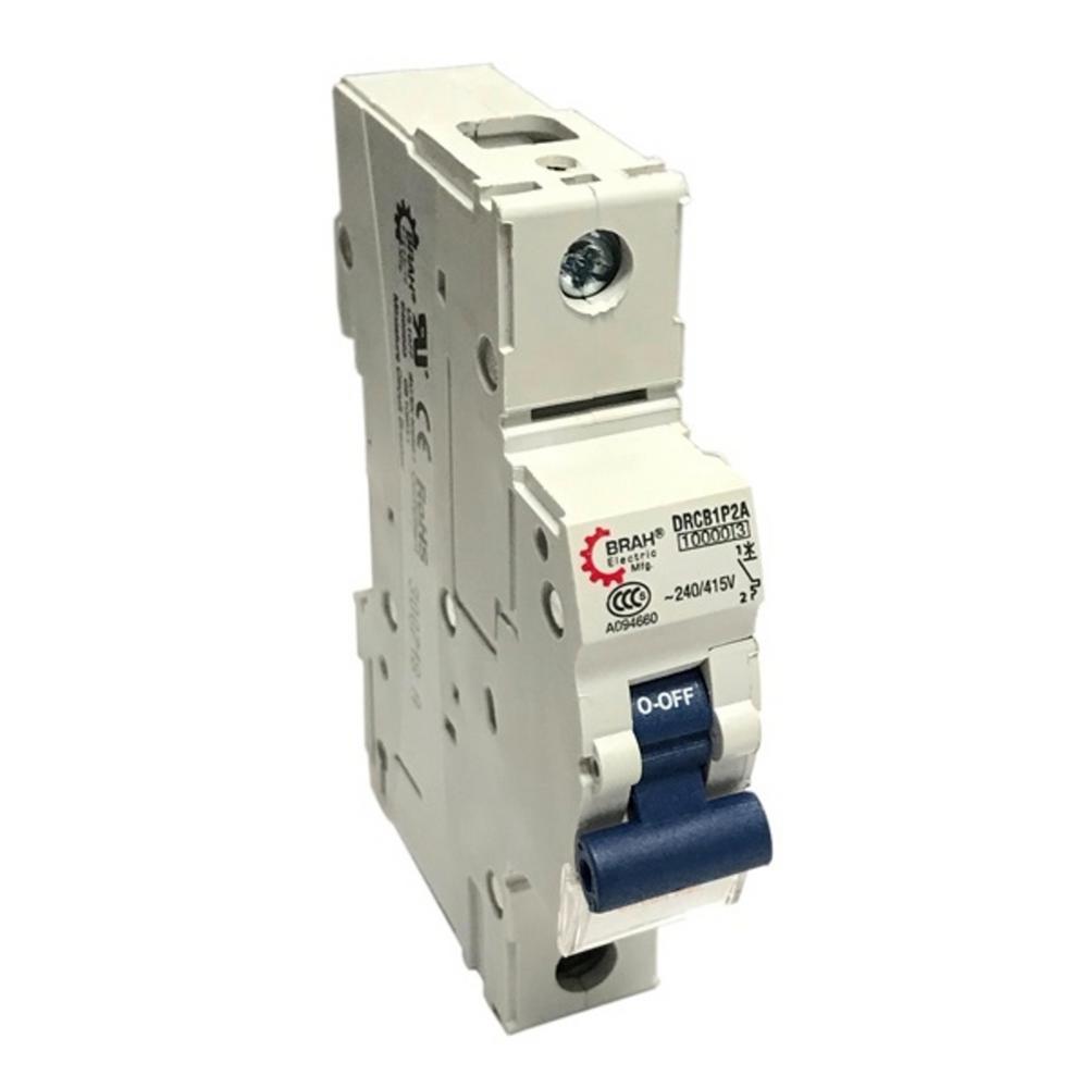 1-Pole 10 Amp Din Rail Circuit Breaker