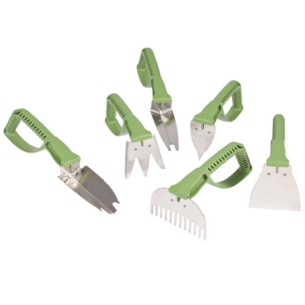 NaturalGrip 6-Piece Master Gardener's Tool Set