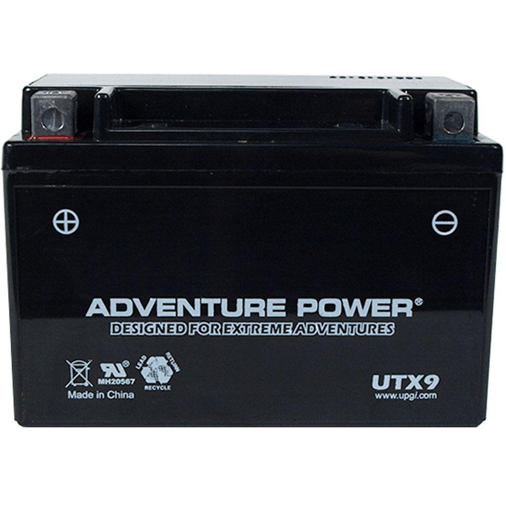 UPG Sealed AGM 12-Volt 8 Ah Capacity D Terminal Battery