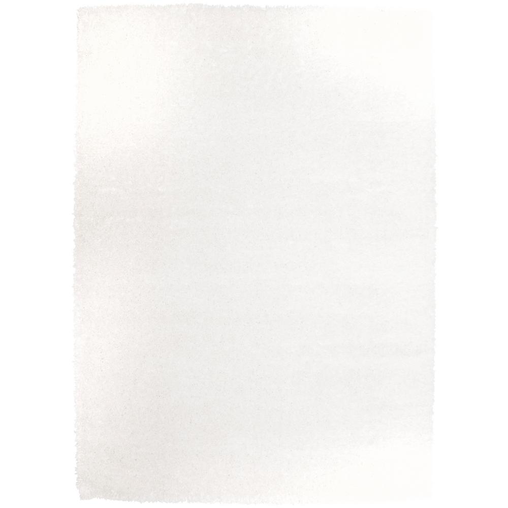 Home Dynamix Carmela Ivory Solid 7 ft. 10 in. x 10 ft. 2 in. Indoor Area Rug