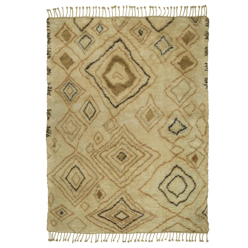 Moroccan Ivory Gold 8 Ft X 10 Indoor Area Rug