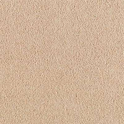 Carpet Sample - Shining Moments I (S) - Color Summer Straw Texture 8 in. x 8 in.