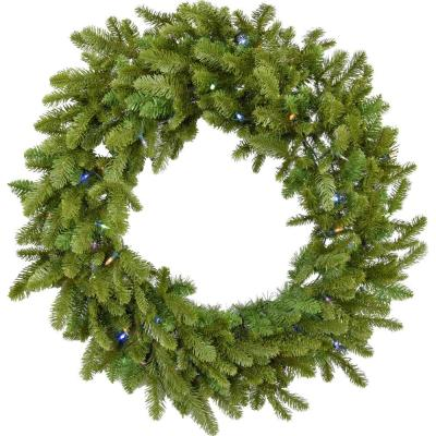 60 in. Wreath Arrangement with Multi-Color LED Lights