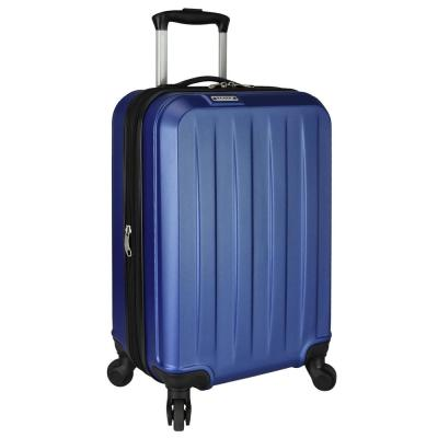 Elite Dori Expandable Carry-On Spinner Luggage, Navy