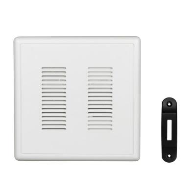 PrimeChime Plus 2 Video Compatible Wired Door Bell Chime Kit with Black Decorative Button