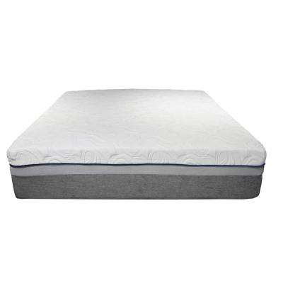 Charlotte 14 in. Queen Pocket Coil Gel Mattress