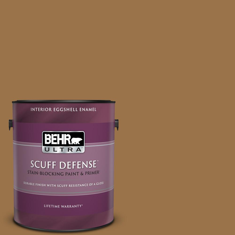 Reviews For Behr Ultra 1 Gal Ppu4 17 Olympic Bronze Extra Durable Eggshell Enamel Interior Paint Primer 275301 The Home Depot