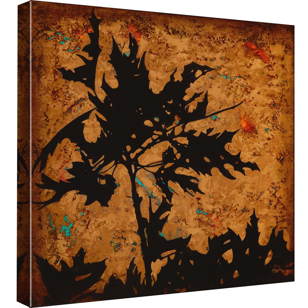 15 in. x 15 in. ''Autumn Fusion 4'' Printed Canvas Wall Art