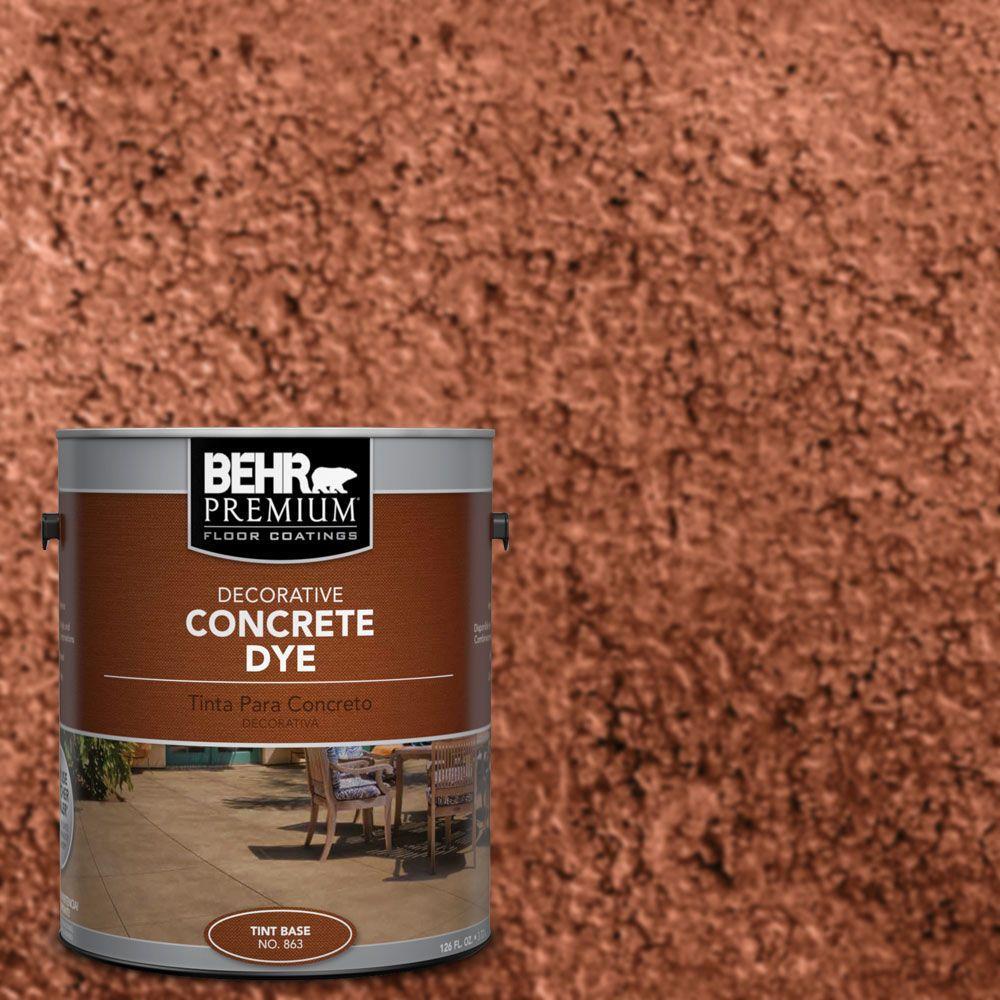1 gal. #CD-803 Cajun Rose Concrete Dye