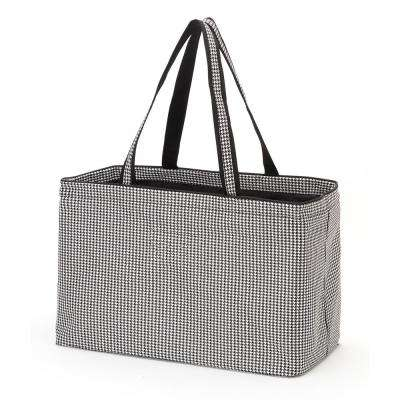 Houndstooth Polyester Ultimate Tote