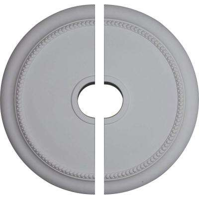 24-1/8 in. O.D. x 4-3/8 in. I.D. x 2-1/4 in. P Crendon Ceiling Medallion (2-Piece)