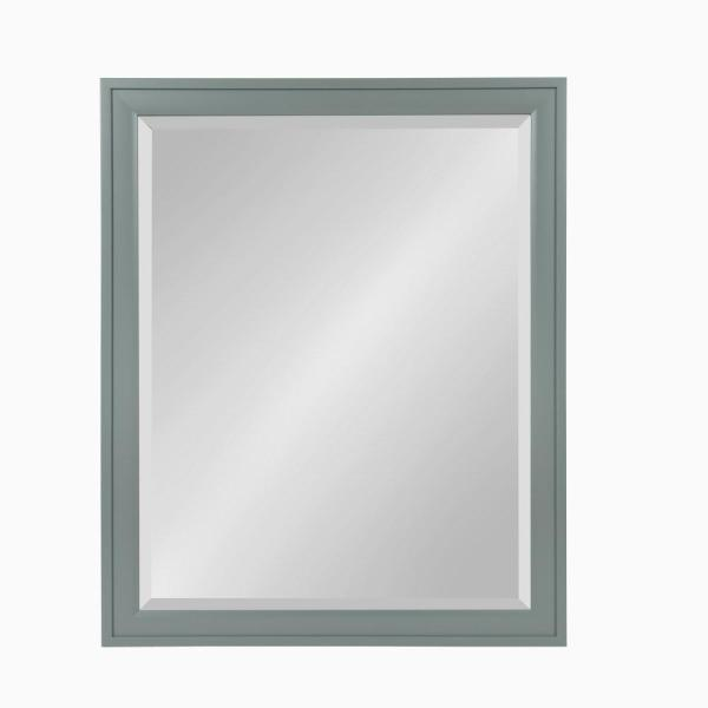 DesignOvation Bosc Rectangle Gray Mirror