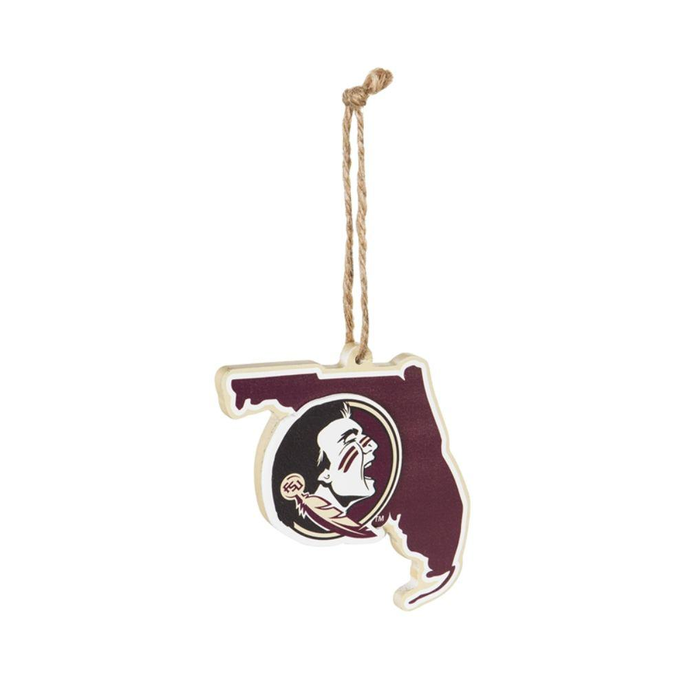 Team Sports America Florida State University 5 In Ncaa Team State Christmas Ornament