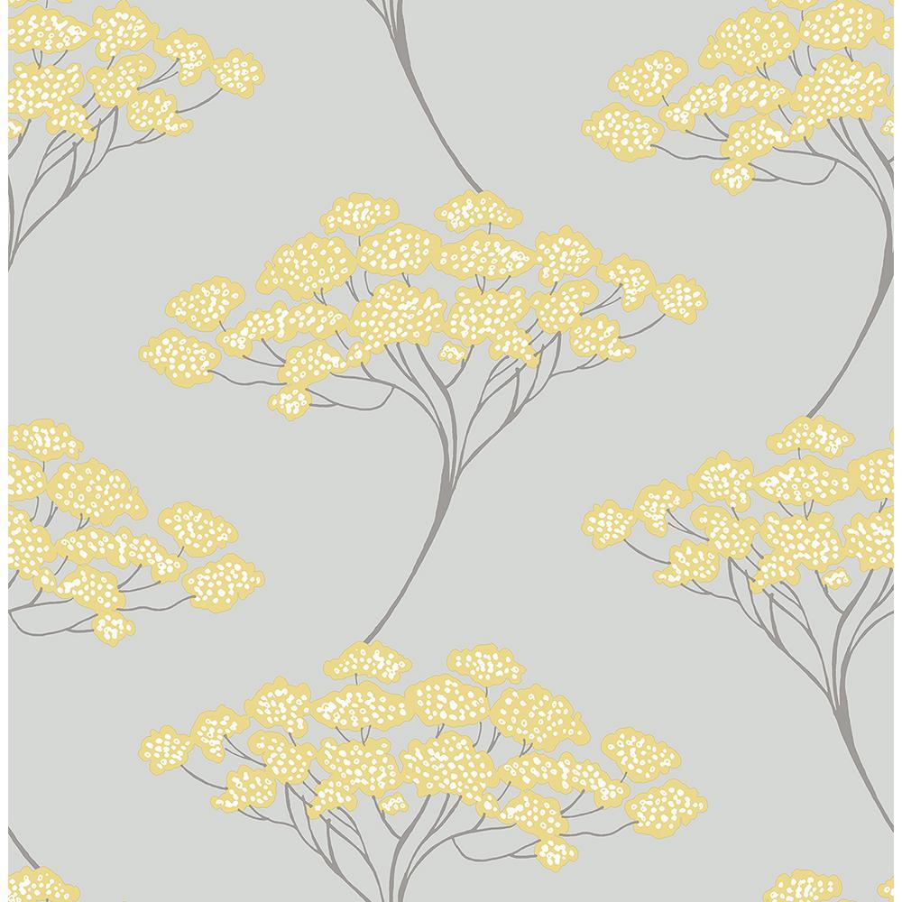 Kenneth James Banyan Grey Tree Wallpaper 2671-22412