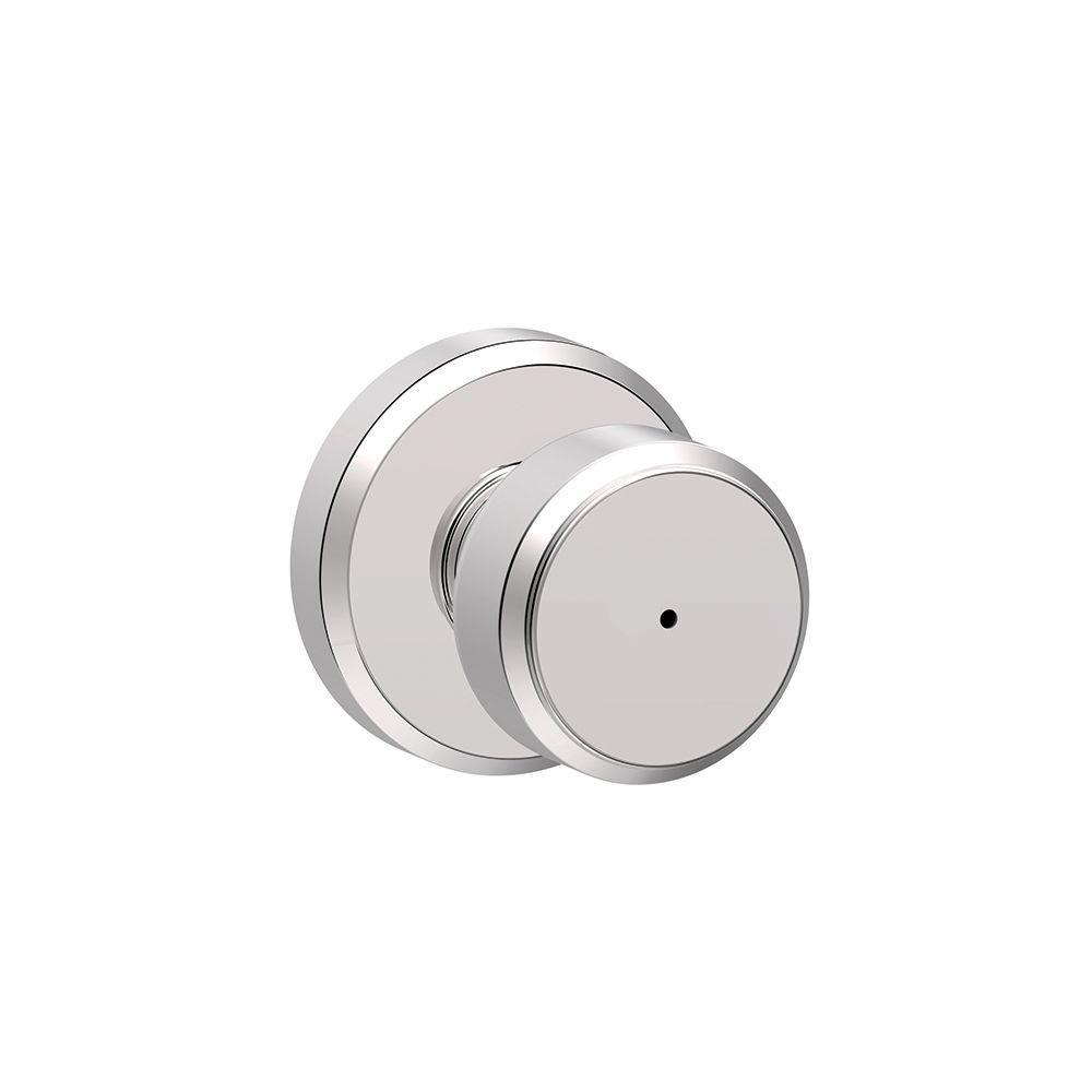 Schlage - Unkeyed - Chrome - Door Knobs - Door Hardware - The Home Depot