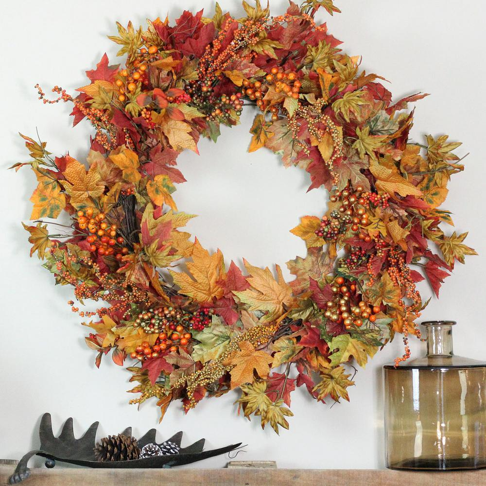 lavender autumn bolls cotton decorative front for decor youtube basket the wreaths door